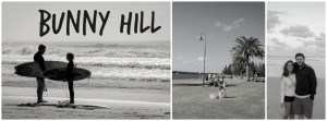 Bunny hill collage