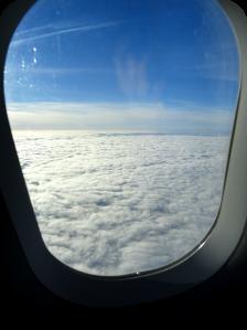nubes avión