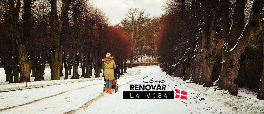 renovar visa Dinamarca